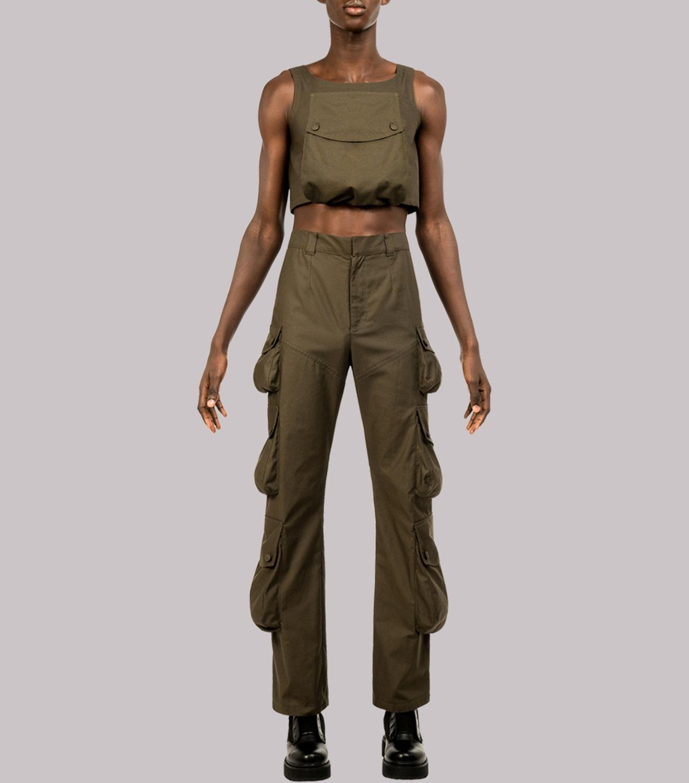 REAMEREI: pantaloni con maxi tasche 15