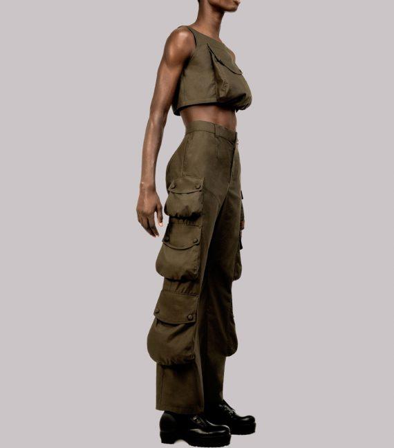 REAMEREI: pantaloni con maxi tasche 12
