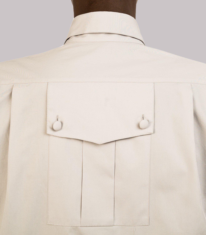 REAMEREI: camicia popeline grigia 8