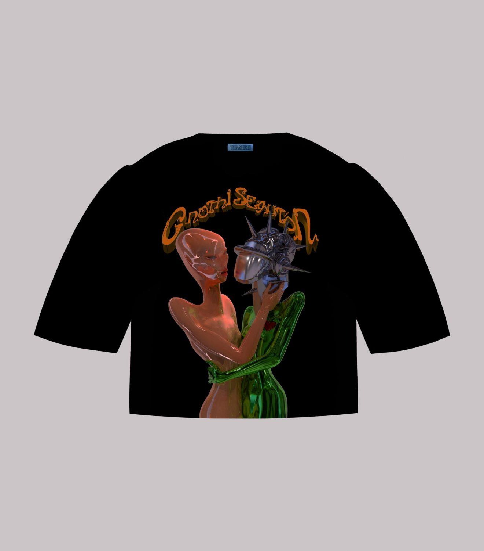 "REAMEREI: t-shirt sostenibile ""Gnōthi Seautón"" 5"