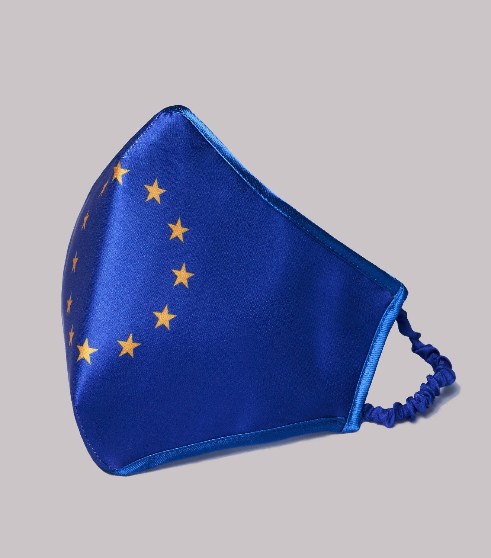 REAMEREI: mascherina con stampa Europa 1