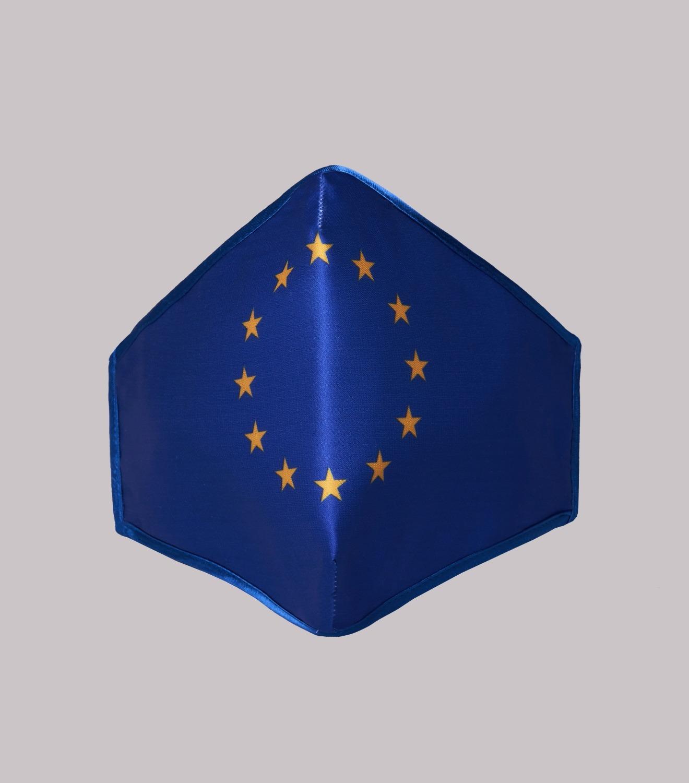 REAMEREI: mascherina con stampa Europa