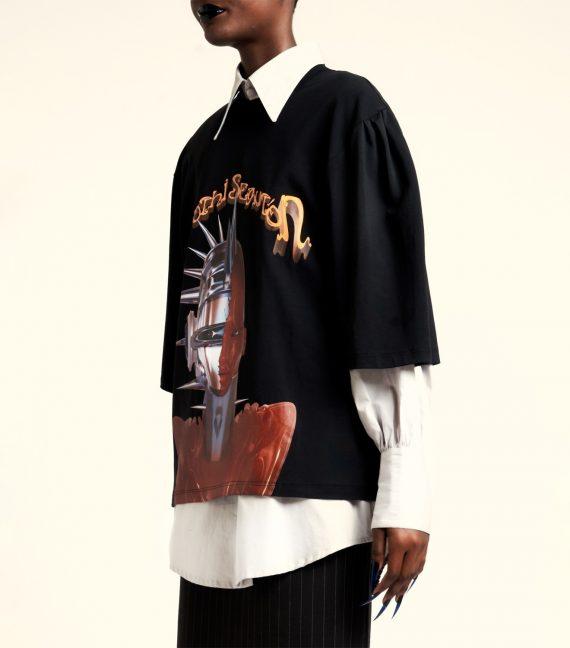 "REAMEREI: t-shirt sostenibile ""Gnōthi Seautón"""