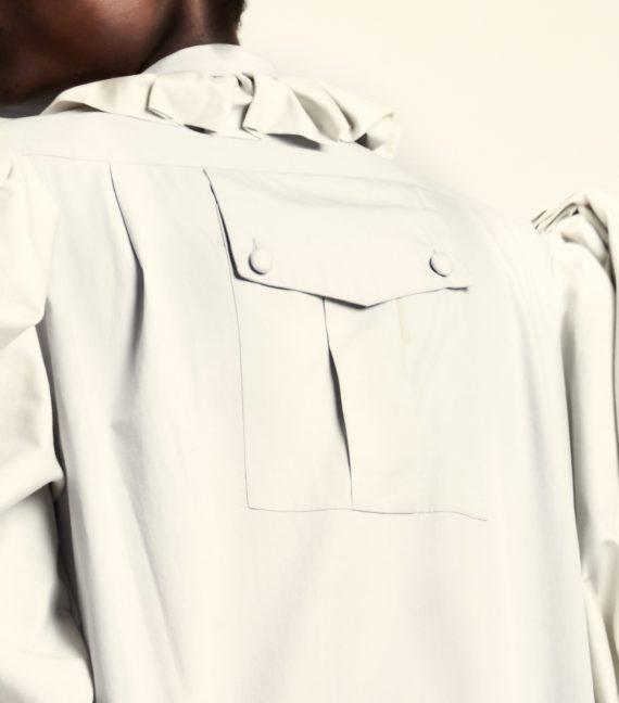 REAMEREI: abito in popeline e stampa 'Posidonia' 4